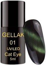 Cat Eye Gellak Groen