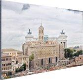 Het oude Rome Aluminium 180x120 cm - Foto print op Aluminium (metaal wanddecoratie) XXL / Groot formaat!