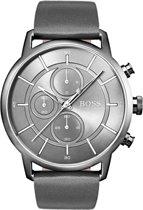 BOSS HB1513570 horloge heren - grijs - edelstaal PVD grijs