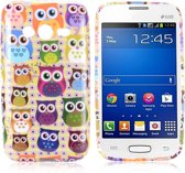 Colorful Owls Silicone hoesje Samsung Galaxy Ace 4 G313