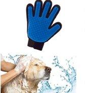 Vacht verzorgingsborstel voor huisdieren - Let op Underdog Tech Bedrukking - honden katten konijnen paarden - honden borstel - katten borstel - massage handschoen voor dieren - goed voor de verzorging vacht - Underdog Tech