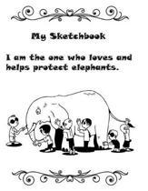 8.5 X 11 Sketchbook