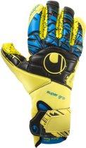 Uhlsport Keepershandschoenen - Unisex - geel/zwart/blauw