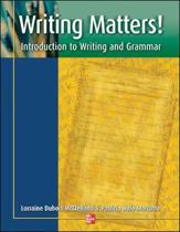 Writing Matters! - Student Book