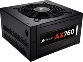 Corsair AX760 80Plus Platinum 760W ATX Zwart