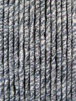 kattenstaart vliegengordijn - blauw/grijs/wit - 90 x 220 cm
