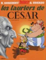 Boek cover Les lauriers de Cesar van Rene Goscinny