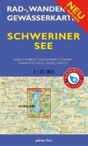 Schweriner See 1 : 35 000 Rad-, Wander- und Gewässerkarte