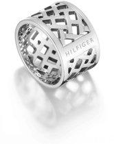 Tommy Hilfiger Pierced Open Ring TJ2700743D (maat 56)