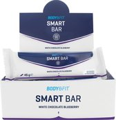 Body & Fit Smart Bars - Eiwitreep - 1 doos (12 eiwitrepen) - White Chocolate Blueberry