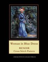 Woman in Blue Dress: Renoir Cross Stitch Pattern