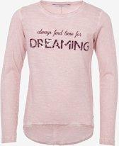 Tiffosi-meisjes-shirt/longsleeve- Karine-kleur: roze-maat 104