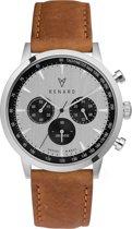 Renard Grande Chrono horloge  - Bruin