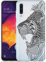 Galaxy A30s Hoesje Leeuw Mandala