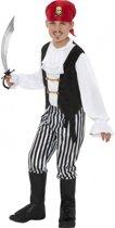 Piraten kostuum voor kinderen 115-128 (4-6 jaar)