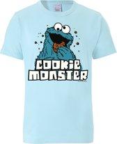 Logoshirt T-Shirt Krümelmonster - Sesamstrasse