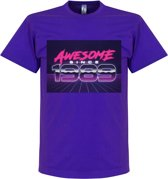 Awesome Since 1989 T-Shirt - Paars - S
