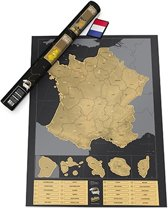Kras Wereldkaart - Scratch Map France