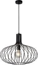 Lucide MANUELA - Hanglamp - Ø 50 cm - E27 - Zwart