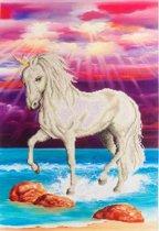 Diamond Dotz ® painting Magical Unicorn (51x77 cm) - Diamond Painting