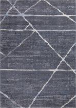 Luxury Design Vloerkleed Marrakech 120x170cm - Antraciet - Laagpolig