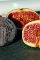 Yummy Halved Figs Journal