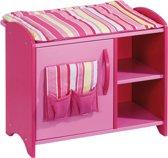 howa Houten Poppen Commode roze 2720