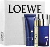 Loewe perfumes 7  eau de toilette 100ml spray + balsamo after shave 50ml + vial 20ml
