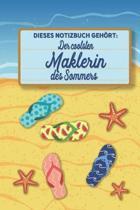 Dieses Notizbuch geh rt der coolsten Maklerin des Sommers