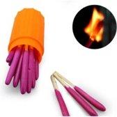 Survivalkit Firekit - extra grote luciferkoppen