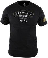 adidas T-Shirt TaekWondo Community Zwart Extra Small