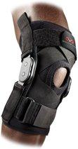 McDavid 429X Kniebrace - Polycentrische scharnieren - Gekruiste Straps - Elastische Bandage Blessures - Knie Strap - Knie Band - Patella Support - Zwart  - Small