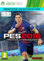 Pro Evolution Soccer 2018 - Premium Edition - Xbox 360