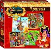 Piet Piraat 4-in-1 - Puzzel