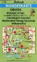 Rodachtal - Steinwiesen. Wallenfels 1 : 35 000. Fritsch Wanderkarte