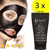 3 x Blackhead Masker 150 ML / PEEL OFF BLACK MASK
