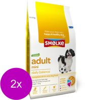 Smolke adult mini hondenvoer 2x 12 kg
