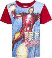 Marvel Avengers Iron Man T-shirt maat 4 (104cm)