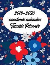 2019-2020 Academic Calendar Teacher Planner