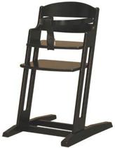 BabyDan Dan High Chair Kinderstoel - Zwart