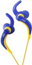 JVC HA-ETX30A - In-ear Sports koptelefoon - Blauw/Geel