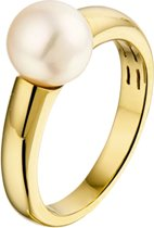 The Jewelry Collection Ring Parel - Geelgoud (14 Krt.)