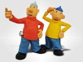 Buurman & Buurman figurine set van twee poppen
