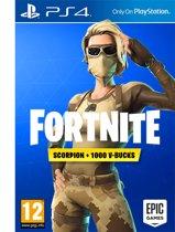 Fortnite Scorpion Skin - Playstation 4 + 1000 V-bucks