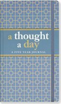 A Thought a Day: A Five Year Journal / Meerjarendagboek