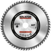 Kreator KRT020428 Zaagblad hout 254 mm -60T