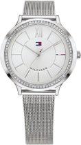Tommy Hilfiger TH1781862 horloge dames - zilver - edelstaal