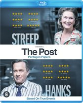 DVD cover van The Post (Blu-ray)
