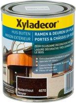 Xyladecor Ramen & Deuren Uv-Plus - Houtbeits - Notenhout - 0,75L