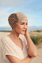 Tulband linnen - hoofddoek - Bruin